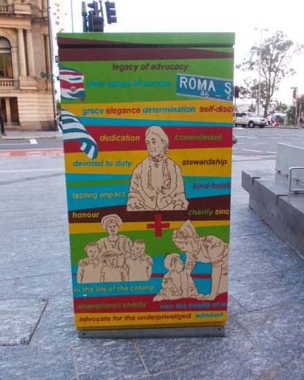 Brisbane Square junction box