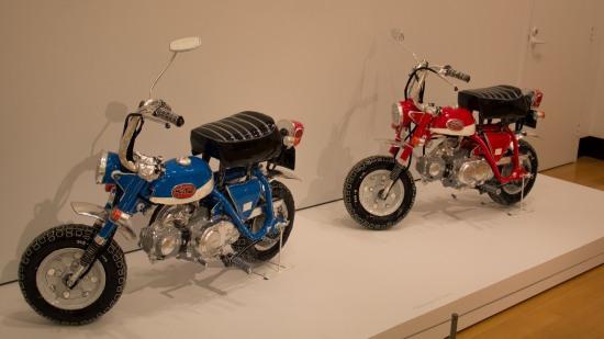 Two Honda Z50a minibikes by Eamon O'Toole
