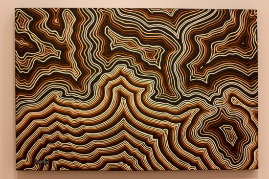 Untitled - Dale Weston.  Reminds me of a topographical map.