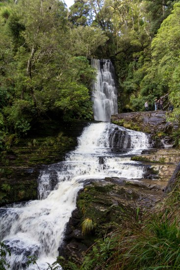 The upper falls, McLean Falls, The Catlins