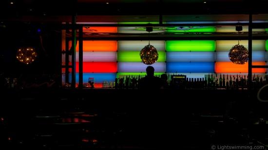 Night Lights, Cruise Bar, Circular Quay Sydney
