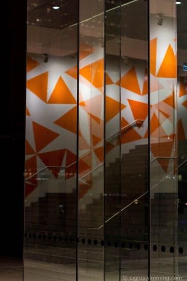 Reflection, Museum of Contemporary Art, Circular Quay entrance