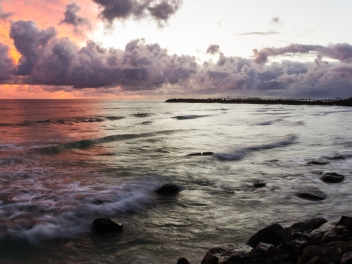 Dawn, Duranbah Beach, NSW. Jan 2013.