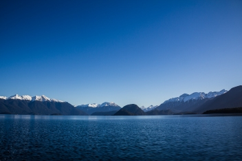 Lake Manapouri, South Island, New Zealand. Aug 2011.