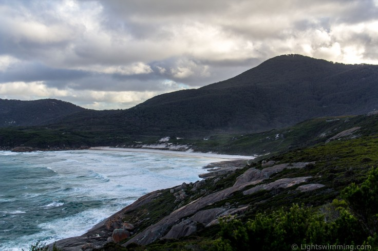 Squeaky Beach from Pillar Point, Wilsons Promontory National Park