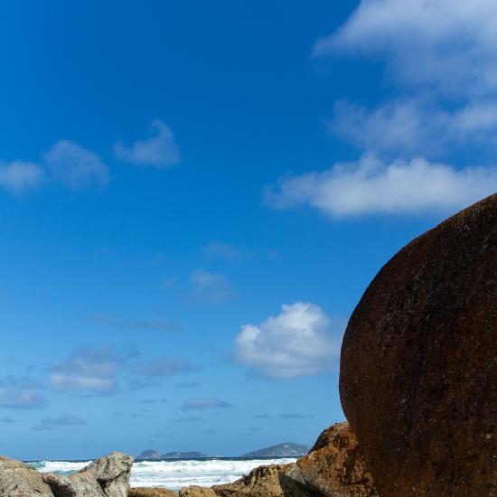 Blue Squeaky Beach Sky