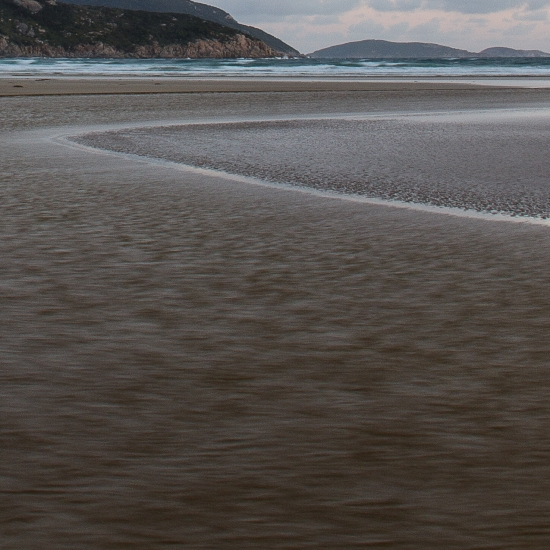 Norman Beach sand