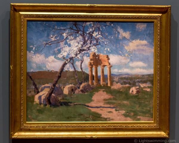 Amadiers et ruines, Sicile, John Russell