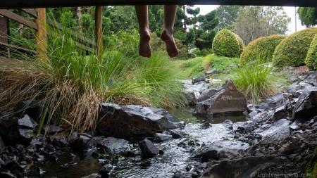 Nerima Gardens Timelapse sequence 1: under the bridge