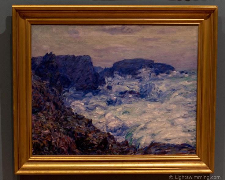 Rochers de Belle-Isle, John Russell