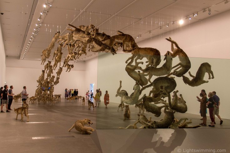 'Head On' by Cai Guo-Qiang
